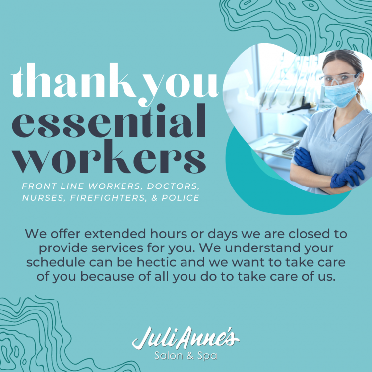 JuliAnne - Essential Workers